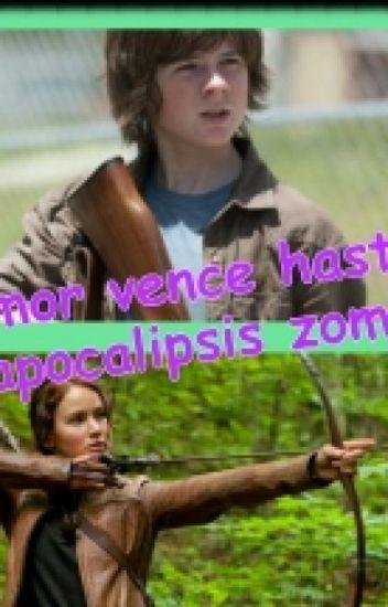 El amor vence hasta una apocalipsis zombie (Carl Grimes y tu)