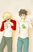 Coffee and Cigarettes 「Johndave」 by sadpopsicle