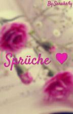 Sprüche ♥ by Sarahr4y