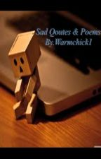 Sad Quotes & Poems by warmchick1