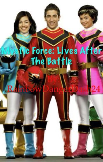 Nothing tell Power rangers mystic force same