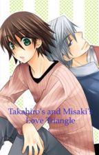 Junjou Romantica: Takahiro's and Misaki's Love Triangle by ZeeStar30
