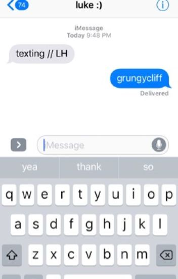Texting // L.H.