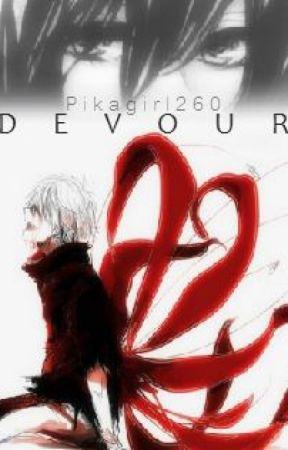 Devour|Tokyo Ghoul/Attack on Titan Crossover by PikaGirl260