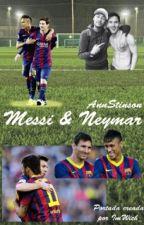 Messi y Neymar Chats {HUMOR} by AnnStinson