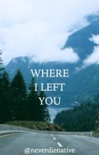 Where I Left You ▷ Jacob Black by neverdienative
