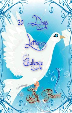 30 Days Letter Challenge by paarri
