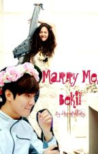 Marry Me, Beki! #Wattys2017 by MoonLightFairy
