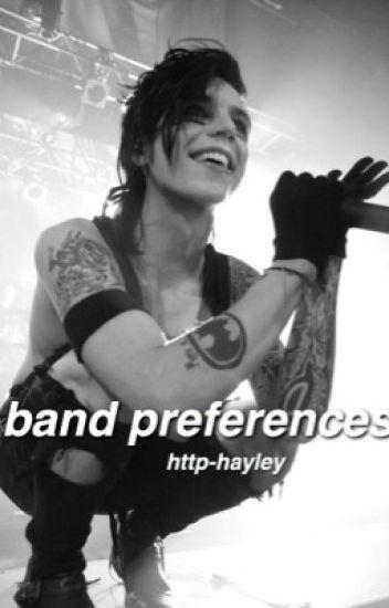 band preferences