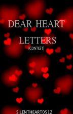 Dear Heart, Letters. by silentheart0512