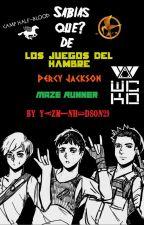 ¿Sabías que? de Los Juegos del hambre, Maze Runner y Percy Jackson by YazminHudson29