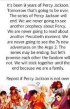 Percy Jackson is not over by KittyCheshireSup