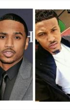 Trey Songz and August Alsina Imagines by xodavelyn