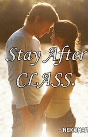 Stay after class by nekomari