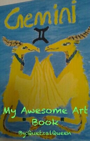 My Awesome Art Book by QuetzalQueen