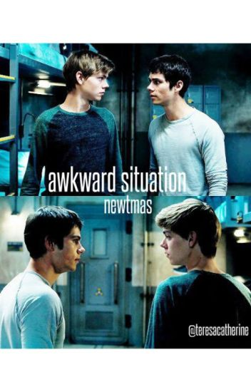 awkward situation ~ newtmas au