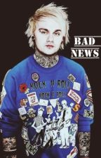 Bad News | Punk Michael Clifford by castaway_clifford