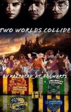 Two worlds collide (Percy Jackson and Harry Potter crossover) by Captainharuchan