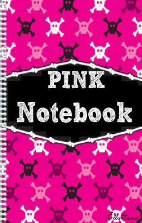 Pink notebook by ellathena