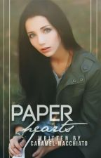 Paper hearts by caramel-macchiato