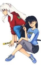 inuyasha x kagome *modern day* by PikachuAkaAivy