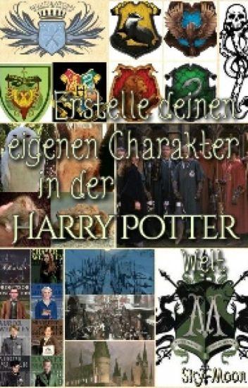 Erstelle deinen eigenen Charakter in der Harry Potter Welt