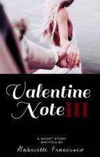 Valentine Note III by SweetPeachWP