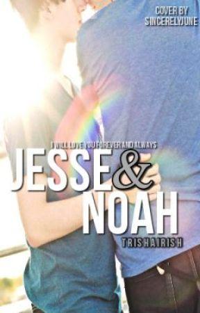 Jesse & Noah by TrishaIrish