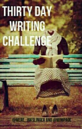 30 Days of Writing by ganseys-mint-plant