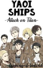 Yaoi Ships - Attack on Titan by adelineTM