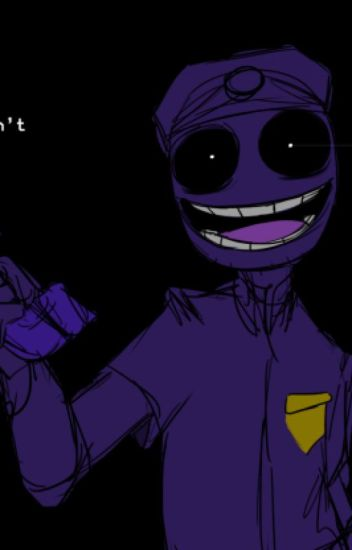 Nighttime Visit (Reader x Purple Guy)