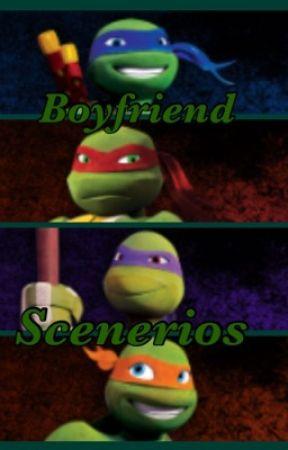 TMNT Boyfriend Scenarios - When he finally sees you: Leo - Wattpad