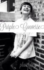 Purple Converse // g.c. by planetgreyson_
