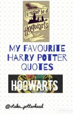 My Favourite Harry Potter Quotes by otaku_potterhead