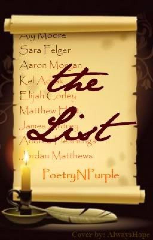 The List by PoetryNPurple