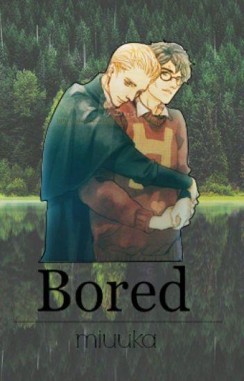 Bored.  » Drarry | Draco x Harry