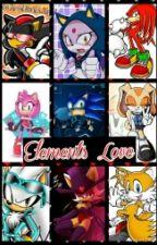 Elements Love (Sonic Couples) by RandomWriterO_o