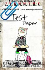 Test Paper [ONE-SHOT] by zyanntrx