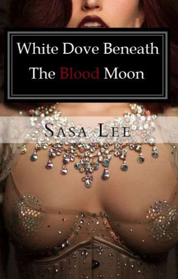 White Dove Beneath the Blood Moon