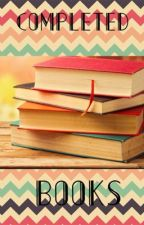 Completed Books On Wattpad by valeria11802