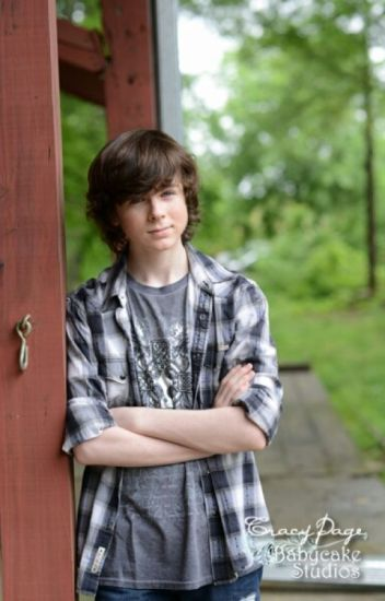 Chandler Riggs dirty and non dirty