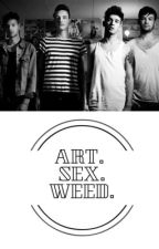 art. sex. weed. //The 1975// by Unicorn_Piss586