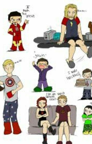 Epic slumber party (avengers x reader)