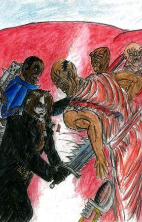 Secret War: Upon Blood Sands by BenAgar