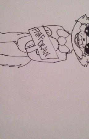 My Fnaf Drawings Quick Sketch Wattpad