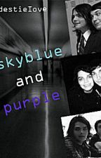 Skyblue and Purple by fakeyourend
