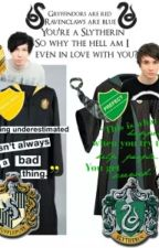 Love between houses. (Dan and phil in harry potter) by JuniorDropOut