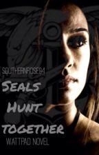 Seals Hunt Together by SouthernRose94