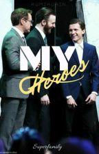 My Heroes // Superfamily by kumikurin