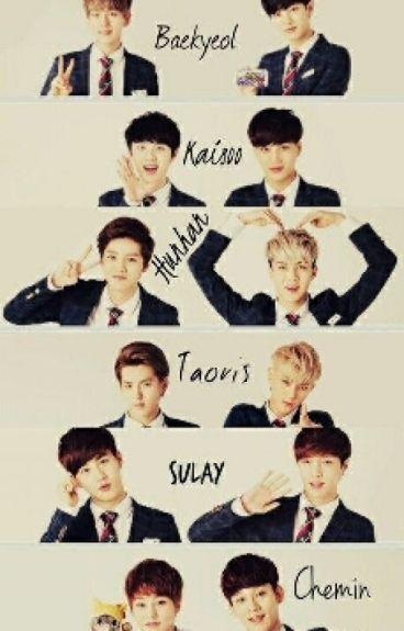¿Odio o Amor? (KaiSoo)~(BaekYeol)~(HunHan)~(TaoRis)~(Chenmin o Xiuchen)~(SuLay)